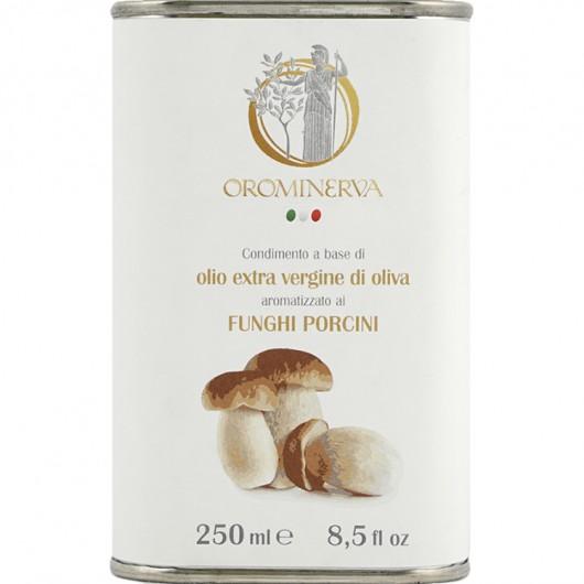 Porcini mushrooms-flavoured extra virgin olive oil dressing