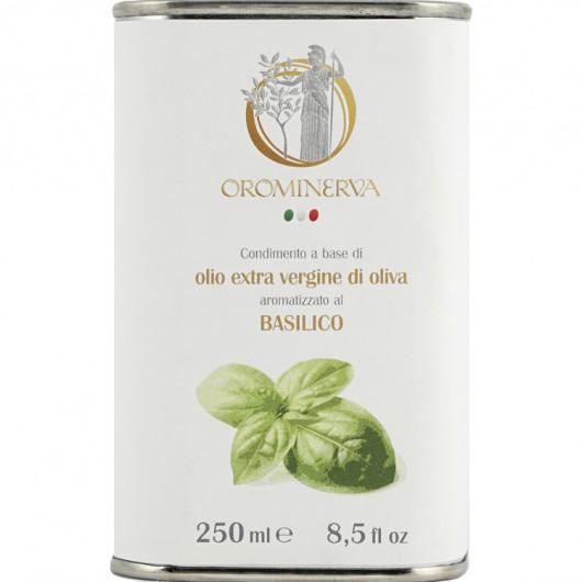 Basil-flavoured extra virgin olive oil dressing