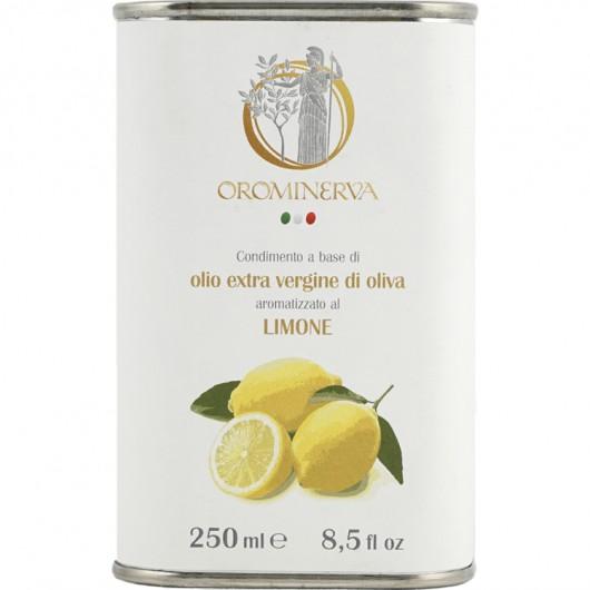 Lemon-flavoured extra virgin olive oil dressing