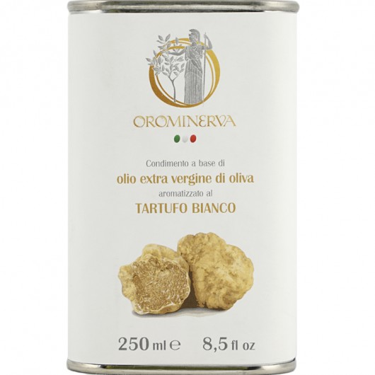 White truffle-flavoured extra virgin olive oil dressing