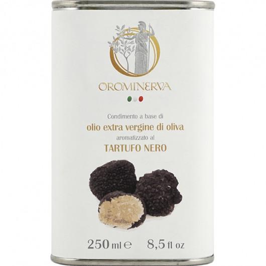 Olio extra vergine di oliva al tartufo nero